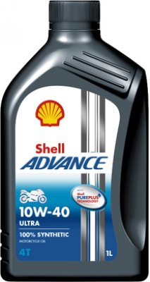 SHELL ADVANCE 4T ULTRA 10W-40