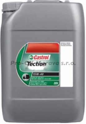 CASTROL TECTION 15W-40 (Doprodej)